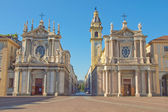 Santa Cristina and San Carlo church — Stock Photo