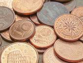 Pièces en euro — Photo