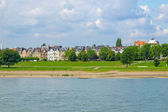 River Rhein — Stock Photo