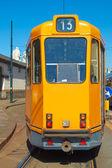 Bir tramvay — Stok fotoğraf