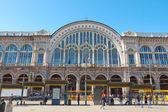 Dworca porta nuova w turynie — Zdjęcie stockowe