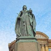 女王维多利亚雕像 — 图库照片