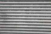 Corrugated steel — Foto Stock
