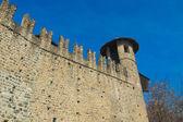 Castello medievale, turijn, italië — Stockfoto