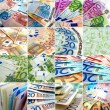 Stock Photo: Money collage
