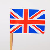 Britse vlag — Stockfoto