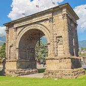 Arco di aosta agosto — Foto Stock