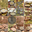Money collage - Stock Photo