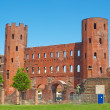Torri Palatine, Turin - Stock Photo