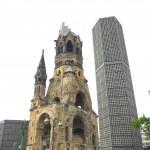Bombed church, Berlin — Stock Photo #21317843