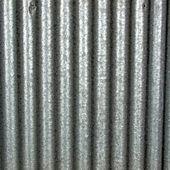 Corrugated steel — Stock Photo