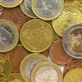 Euro coins — Stockfoto