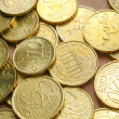 Euro coins background — Stock Photo #21321625