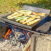 Barbecue picture — Stockfoto