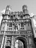 St augustine bramy w canterbury — Zdjęcie stockowe