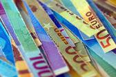 Euro biljet — Stockfoto