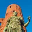 Roman statue of Augustus — Stock Photo