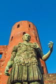 Roman statue of Augustus — Stock Photo