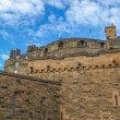 Edinburgh castle, UK - Stock Photo