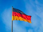 Bandiera tedesca — Foto Stock