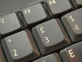 компьютерная клавиатура — Стоковое фото