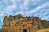 Edinburgh castle, UK — Stock Photo