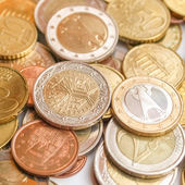 монеты евро — Стоковое фото