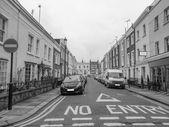 Notting hill w londynie — Zdjęcie stockowe