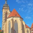 Stiftskirche Church, Stuttgart — Stock Photo
