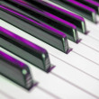 Music keyboard — Stock Photo #23939289