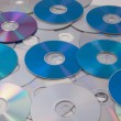 Royalty-Free Stock Photo: CD DVD DB Bluray disc