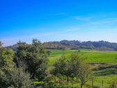 Marcorengo hill — Stock Photo