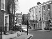 Notting Hill in London — Stock Photo
