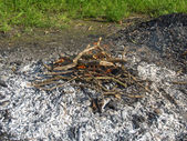 Fuoco ardente — Foto Stock