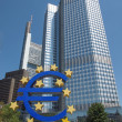 European Central Bank in Frankfurt - Stock Photo