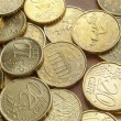 Euro coins background — Stock Photo #26646659