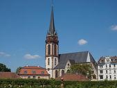 St Elizabeth church in Darmstadt — Stock Photo