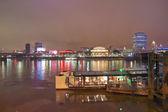 River thames south bank, london — Stockfoto