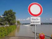 Des inondations en allemagne — Photo