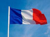 Bandera de francia — Foto de Stock