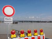 Inundaciones en alemania — Foto de Stock