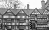Tudor budova — Stock fotografie
