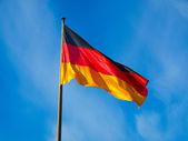 немецкий флаг — Стоковое фото