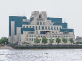 British Secret Service buidling — Stock Photo