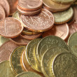 Euro coins background — Stock Photo #28247891
