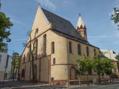 St Leonard Church Frankfurt — Stock Photo
