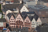 Roemerberg in Frankfurt — Stock Photo