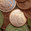 Euro coins background — Stock Photo #28945713