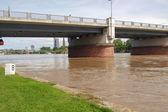 наводнение в германии — Стоковое фото