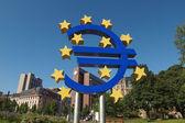 Europese centrale bank in frankfurt — Stockfoto